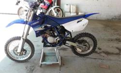 Hi I'm selling my girlfriends yz 85 cc Bike is still