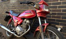 Zongshen ZS125-2 motorcycle, second hand, excellent