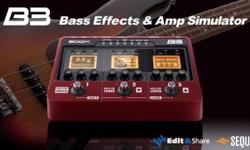 Zoom�s B3 Bass Effects and Amp Simulator combines the