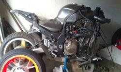 ZX12 BIKE IS ALMOST COMPLETE MOTOR RUNS PERFECT MOTOR